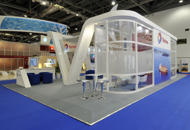 Custom Exhibition Stand Job : Custom stand design built exhibition stands